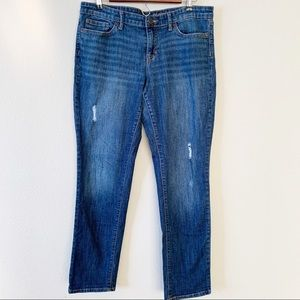 Gap 1969 Premium Boyfriend Distressed Jeans